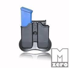 Glock dupla tártartó 9mm / .40 CYTAC
