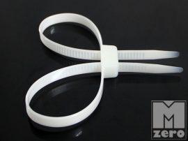 Fehér gyorskötöző (oldható, többszőr használható)