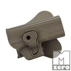 CYTAC GLOCK 17 / 19 SAFETY HOLSTER FDE