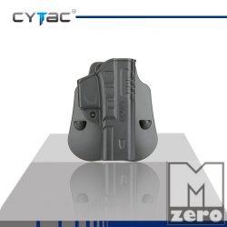 Speeder Series Fast Draw holster for Glock 17 / CYTAC SZORÍTÓS MŰANYAG GYORSTOK G17