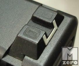 Glock acél hátsóirányzék