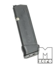 Glock 19 / 17-es tár +2-es tárfenékkel