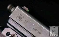 Acél Luminescent Glock elsőirányzék