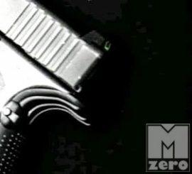 Acél Luminescent Glock hátsó irányzék