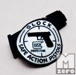 Glock felvasalható felvarró