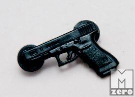 Glock műanyag kitűző